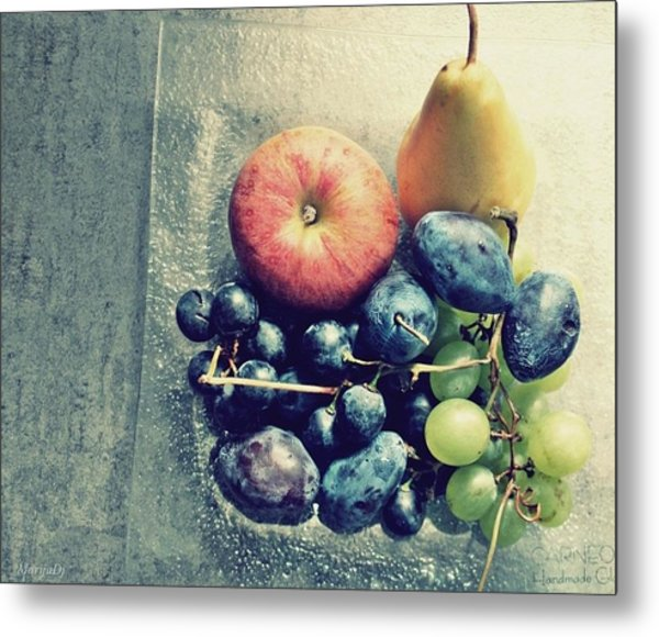 Fruitful Autumn Metal Print