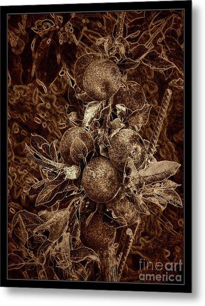 Fruits Of The Loom Metal Print