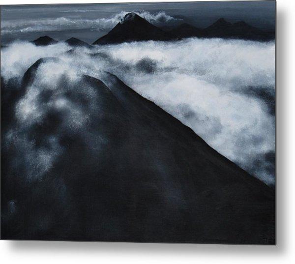 Fuego Volcano Metal Print by Patricia Ann Dees