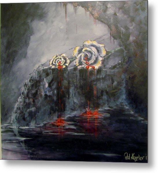 Gaia's Tears Metal Print