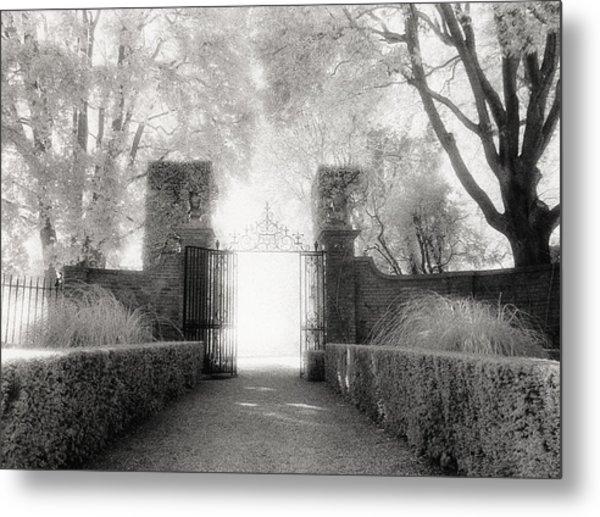 Garden Gate Metal Print by Michael Hudson