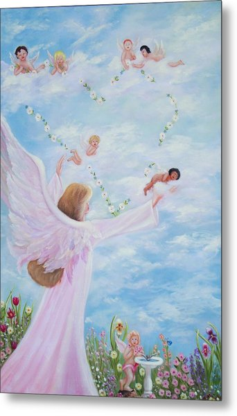 Garden Of Angels Metal Print by Joni McPherson