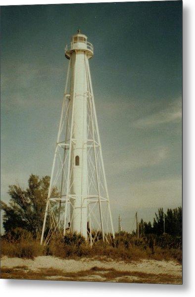 Gasparilla Fl Lighthouse Metal Print by Lois Lepisto
