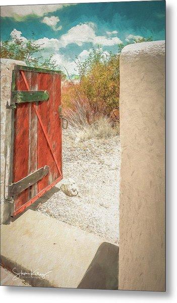 Gate To Oracle Metal Print