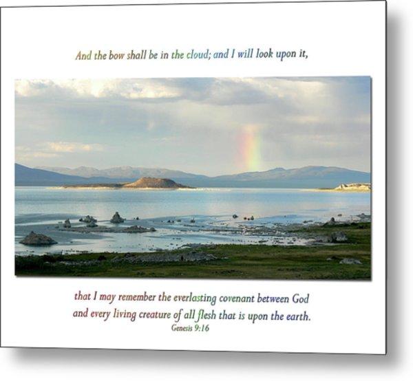 Genesis 9 Verse 16 Metal Print