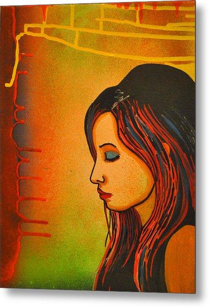 Girl 20 Metal Print