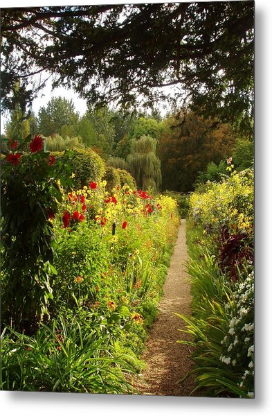 Giverny I Metal Print by Wendy Uvino