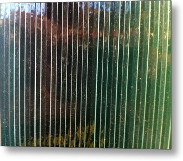 Glass Metal Print by Irenemaria