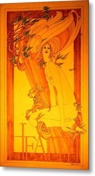 Goddess Of Health Metal Print by Gary Kaemmer