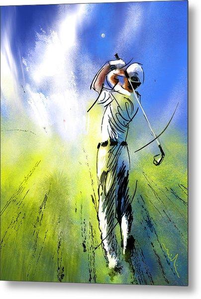 Golfscape 01 Metal Print