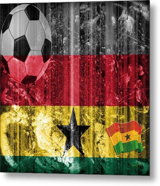 Gollll - Ghana Metal Print