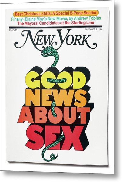 Good News About Sex Metal Print