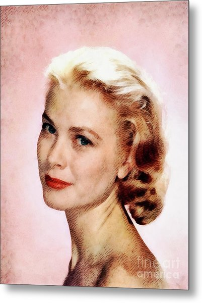 Grace Kelly, Vintage Actress Metal Print