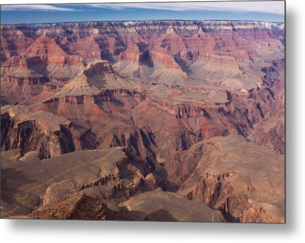 Grand Canyon Overlook Metal Print