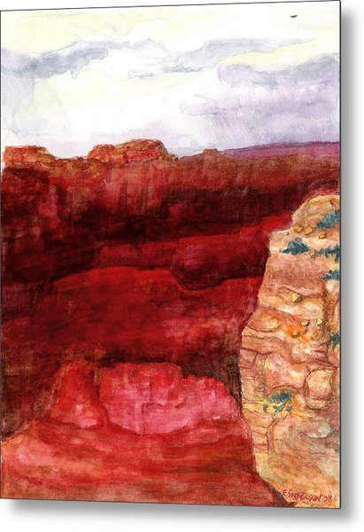 Grand Canyon S Rim Metal Print