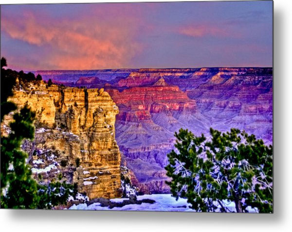 Grand Canyon Sunrise Metal Print