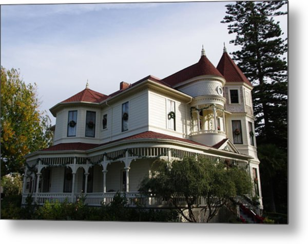 Grand Victorian Mansion  Metal Print