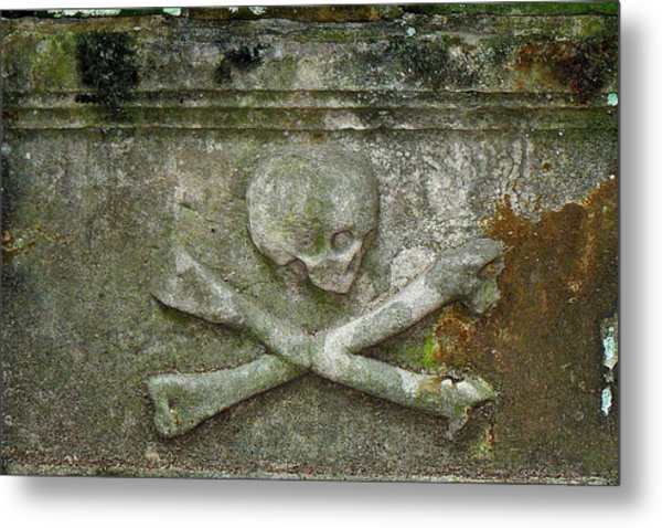 Grave Business 2 Metal Print by Robert Joseph