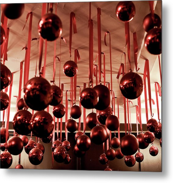 Great Balls Of Macy's Metal Print