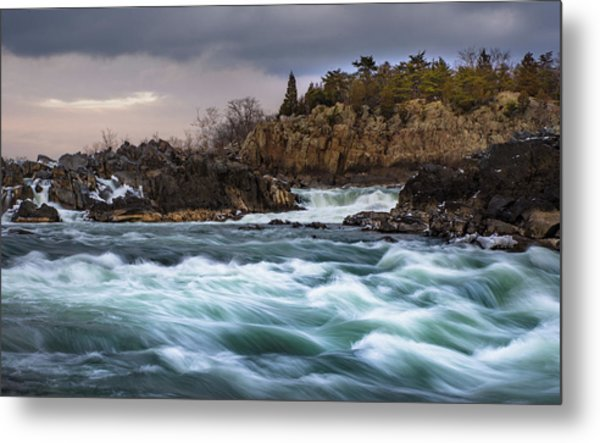 Great Falls Virginia Metal Print