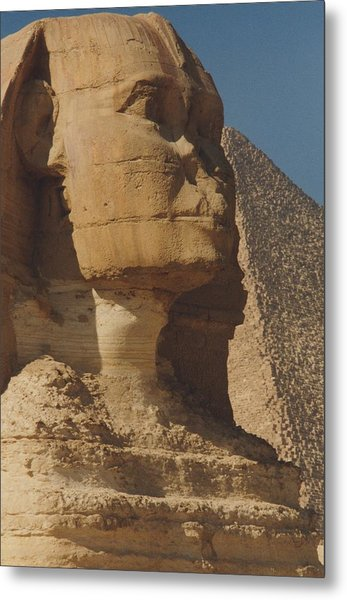 Great Sphinx Of Giza Metal Print