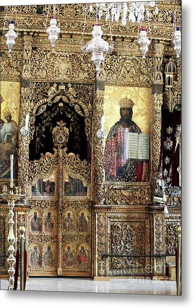 Greek Orthodox Alter Metal Print