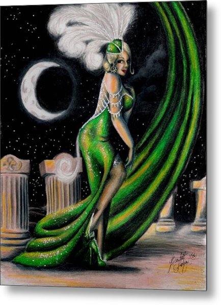 Green With Envy Metal Print by Scarlett Royal