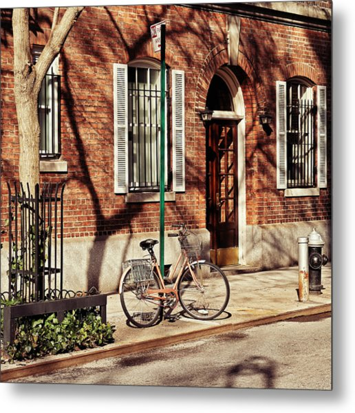 Greenwich Village Metal Print by Benjamin Matthijs