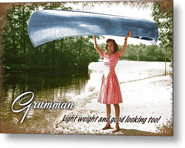 Grumman Canoe Metal Print