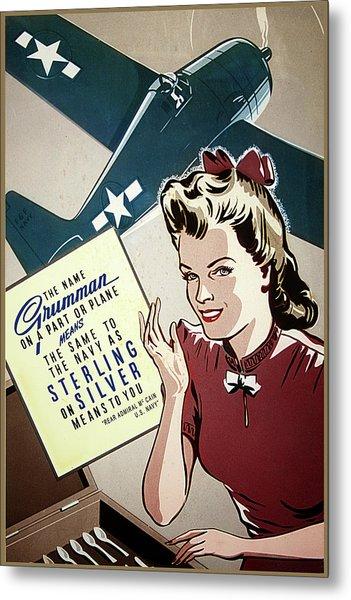 Grumman Sterling Poster Metal Print