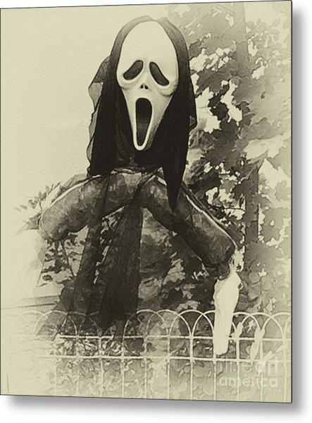 Halloween No 1 - The Scream  Metal Print