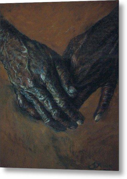 Hands Of Time Metal Print by Tommy  Winn