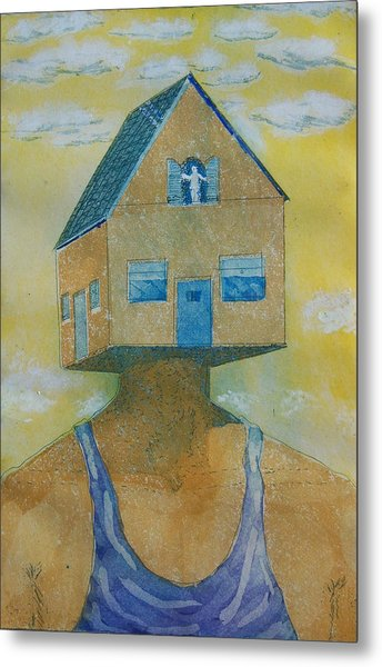 'happy Is The House' Metal Print