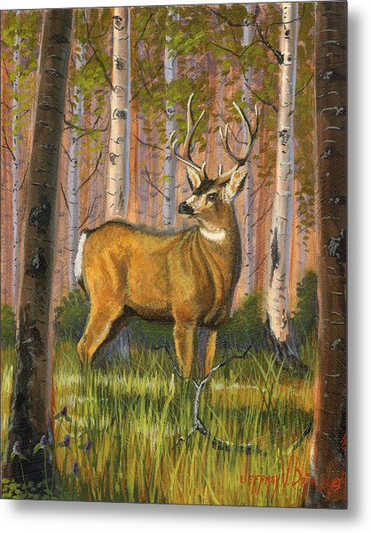Hart Of The Forest Metal Print