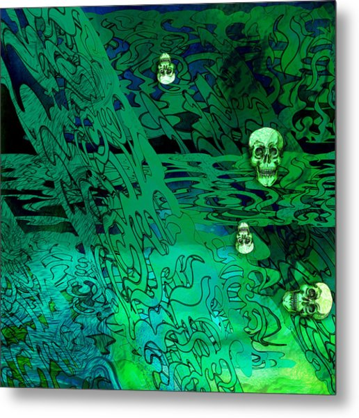 Haunted Hedges Metal Print by Grant  Wilson