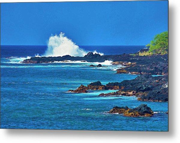 Hawaiian Seascape Metal Print