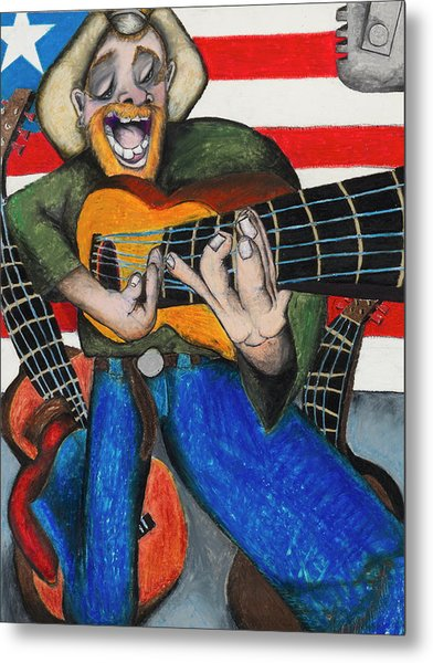 Hawaiian-texas-tunes Metal Print by Billy Knows
