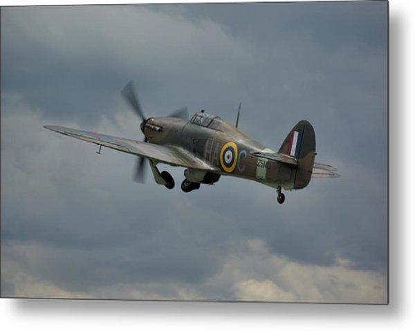 Hawker Hurricane Mk Xii  Metal Print