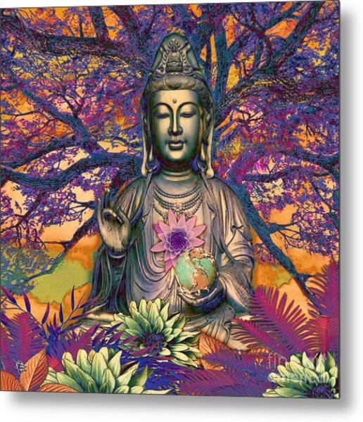 Healing Nature Metal Print