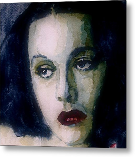 Hedy Lamarr Metal Print by Paul Lovering