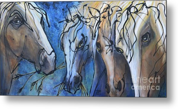 Herd Dynamics Metal Print