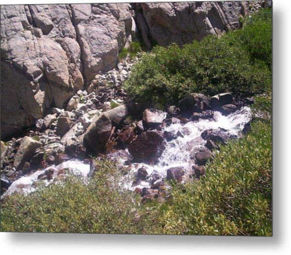 High Sierras Treasure Lakes Iv Metal Print by Sarah Stiles