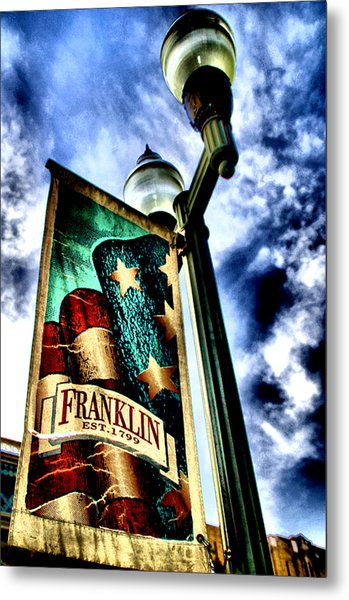 Historic Downtown Franklin Metal Print