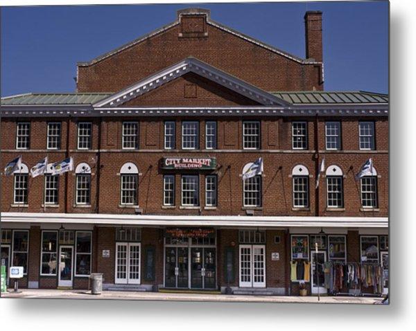 Historic Roanoke City Market Building Metal Print