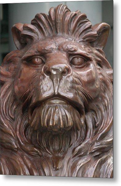 Hksb Lion Metal Print