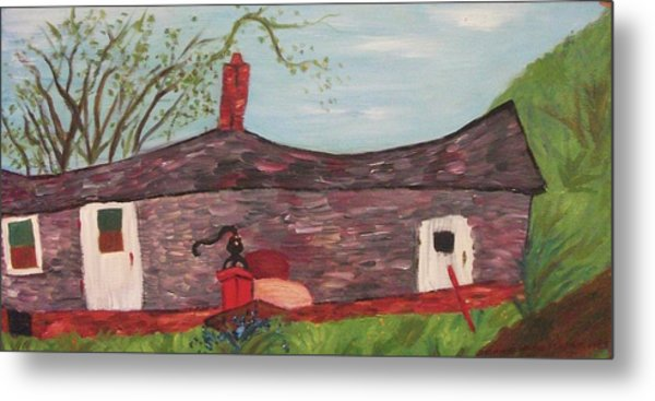 Home In Feeding Hills Part 2 Metal Print by Suzanne  Marie Leclair