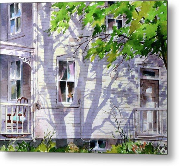 Home Shadows Metal Print by Art Scholz