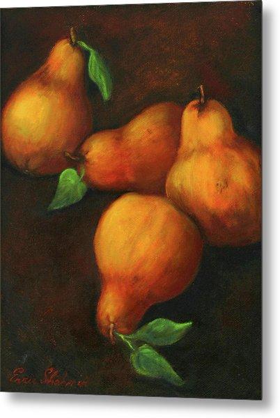 Honey Pears Metal Print