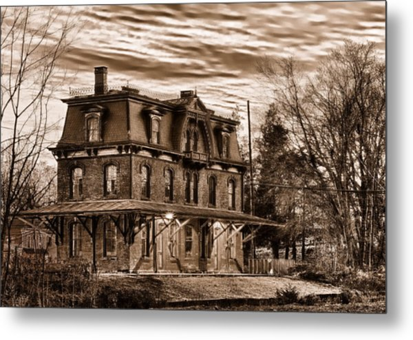Hopewell Station Metal Print