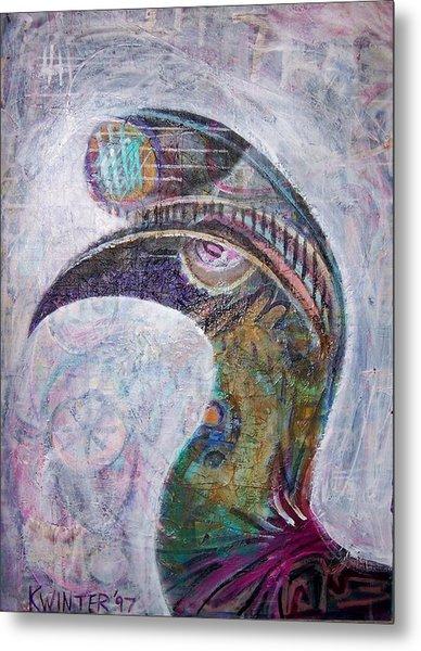 Hornbill Metal Print by Dave Kwinter